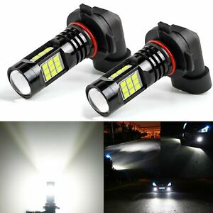 Jdm Astar 2x H10 9145 1500lm Xenon White Px Chips Led Car Fog Drl Driving Lamps
