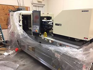 Nissei Nex30 1e All Electric Injection Molding Machine New Never Started