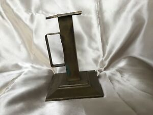 Bradley And Hubbard Mission Brass Candlestick