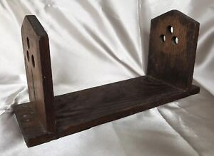 Arts And Crafts Mission Style Oak Book Rack