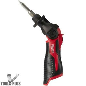 Milwaukee 2488 20 M12 Cordless Soldering Iron tool Only New