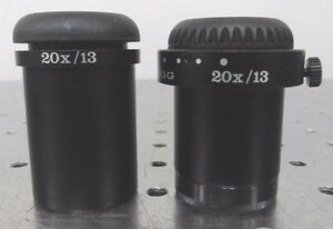 C145562 Lot 2 Wild Heerbrugg 20x 13 Microscope Eyepieces For 30mm Ports