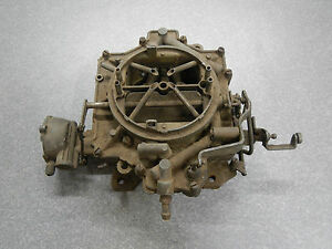 Rochester 4 Jet Carburetor From 1964 Buick 401 425 Nailhead 4 Barrel Carb