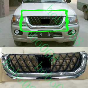 1pcs For Mitsubishi Pajero Shogun Sport 1998 08 Car Front Upper Grille Assembly