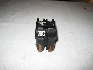 Challenger Fpe Federal Pacific Stab lok Na270 70 amp 2 Pole Circuit Breaker