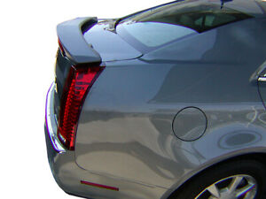Factory Style Rear Spoiler Painted Fits 2008 2012 Cadillac Cts