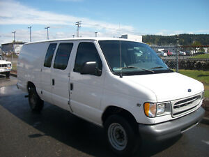 2008 Ford F250 V8 Van With Carpet Cleaning Truck Mount