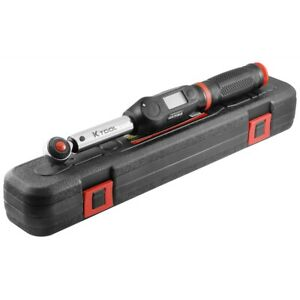 K Tool International 72133 Digital Torque Wrench 3 8 Drive 72 Teeth