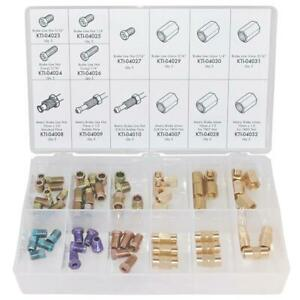 K Tool International 5 64 Piece Brake Line Fitting Kit
