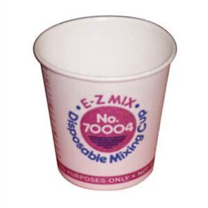 Disposable Mixing Cups 1 4 Pint Cups 400 E z Mix Ezx70004