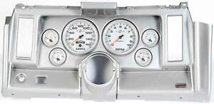 69 Camaro Silver Dash Carrier W Auto Meter Ultra Lite Ii 5 Gauges