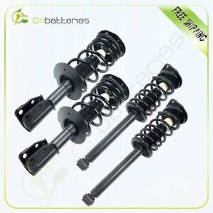 For 1999 2005 Chevy Cavalier Front Rear Strut Coil Spring Assembly 4 Pcs Kit