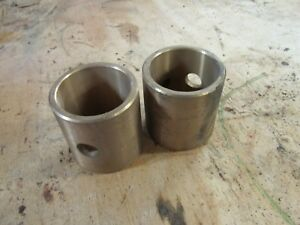 New Old Stock John Deere A Ar Ao Piston Wrist Pin Bushings Pair A727r Aa1626r