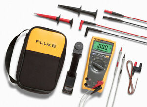 New Fluke 179 eda2 Kit Electronics Multimeter And Deluxe Accessory Kit