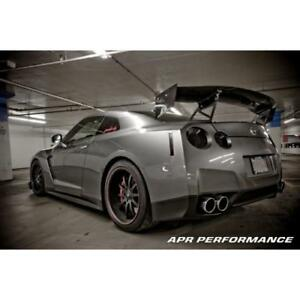 Apr Performance Carbon Fiber Gtc 500 Adjustable Wing Spoiler 71 R35 Gt R