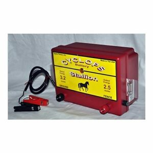 Cyclops Stallion 12v Battery dc Powered 2 5 Joule Electric Fence Charger