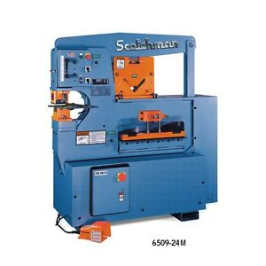 New Scotchman 6509 24m 65 Ton Ironworker Free Shipping