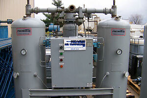 Pneumatech Heated Twin Tower Desiccant Dryer 400 Cfm Use Only 7 Of Compressed