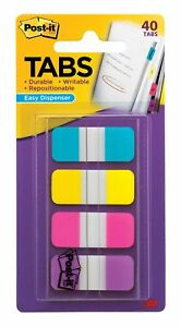 Post it reg Easy Dispenser Assorted Tabs 676aypv