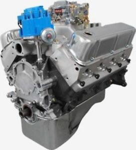 Ford 408ci Stroker Crate Engine 425hp Aluminum Heads Roller Cam 50k Warranty