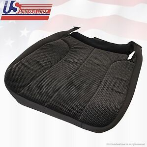 2004 Dodge Ram 1500 Slt Driver Bottom Replacement Fabric Seat Cover Dark Gray