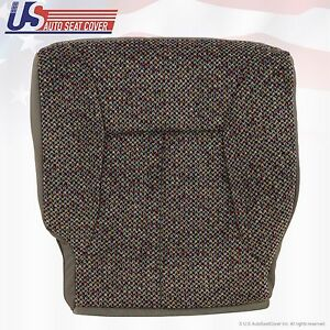 1998 1999 2000 Dodge Ram Hd 1500 2500 3500 Slt Driver Bottom Fabric Seat Cover