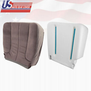 2004 Dodge Ram 3500 Slt Driver Bottom Fabric Seat Cover And Foam Cushion Tan