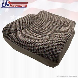 Dodge Ram 1500 2500 3500 Slt Driver Bottom Fabric Seat Cover Fit 1998 1999 2000