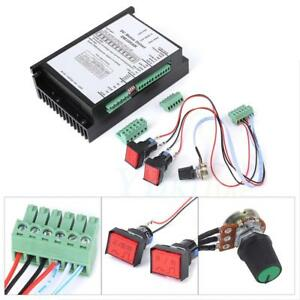 Ac20 110v 2000w Dc Brush Motor Speed Controller Board Pwm Spindle F Mach3 Plc E