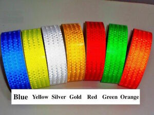 Us Safety Caution Reflective Warning Tape Sticker Self Adhesive Tape 2 X150ft