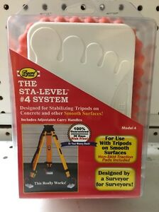 Byers Sta level 4 System Surveyor Tripod Stand Smooth Surface Usa