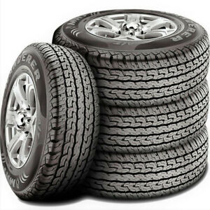 4 New 265 60r18 Mrf Wanderer A T All Terrain Tires