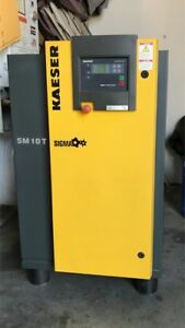 Kaeser Sm 10 T Sigma Air Compressor With Built In Dryer