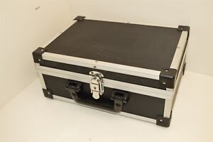 Equipment Storage Hard Carry Case With Key Lock And Handle 13x9x5