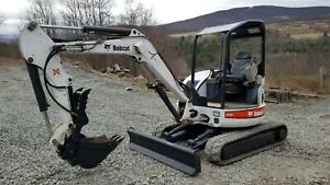 2015 Bobcat E63 Excavator Cab A c Hydraulic Thumb Long Arm Low Hours Finance