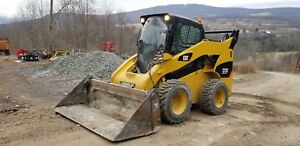 2012 Cat 272c Skid Steer Cab Heat A c Xps High Flow Ready To Work Pa Finance