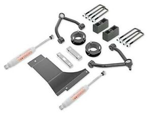 Trail Master 4 0 Inch Lift Kit With Ngs Shocks 07 13 Gm 1500