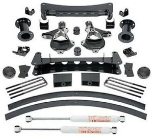 Trail Master 6 Knuckle Suspension Lift Kit W Rear Ngs Shocks 2007 2013 Gm 1500