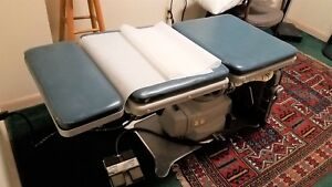 Ritter Company Model C75 Electric Hydraulic Exam Table Bed Medical Dental Tattoo