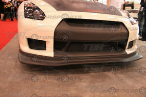 Seibon Carbon Fiber Front Lip Spoiler Ss For 08 11 Skyline Gt r R35