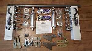 Viking 1979 2004 Mustang Weld In Rear Coil Over Mini Tub Kit Double Adjustable