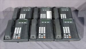 Lot Of 6 Good Toshiba Dkt2010 sd Telephones Handsets