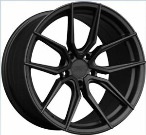 Xxr 559 19x8 5 5x114 3 40 Flat Graphite New Set Of 4 Rims