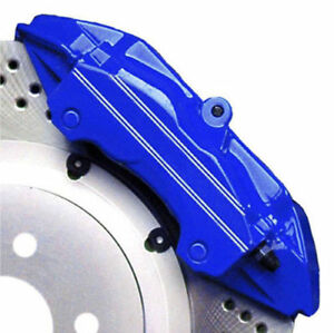 Custom Mustang Vista Blue G2 Brake Caliper Paint Kit High Heat Made In Usa