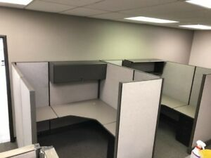 Herman Miller Custom Ao2 Cubicles 6 X 6 new Fabric And Your Choice Of Laminate