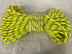 Double Braid Polyester 1 2 x 90 Feet Arborist Rigging Tree Rope Line