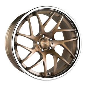 20 Vertini Rf1 4 Forged Bronze Concave Wheels Rims Fits Toyota Camry