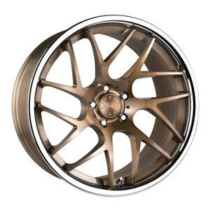 20 Vertini Rf1 4 Forged Bronze Concave Wheels Rims Fits Acura Tl