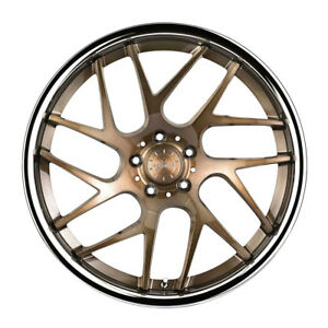 20 Vertini Rf1 4 Forged Bronze Concave Wheels Rims Fits Benz W219 Cls500 Cls550