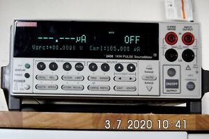 Keithley 2430 1kw Pulse Mode Sourcemeter To 100v 10a Rev C27 Nist 12 17